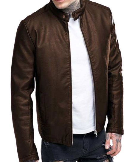 Brown leather jacket Alteration