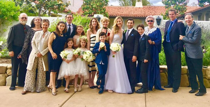 Wedding Gown Marisa With Family
