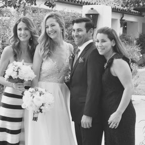 Marisa Angelo Wedding Picture With Friends